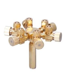 ISTA - Metal Air Flow Controller - 6 Ways - 568