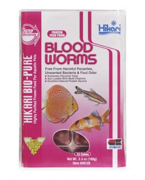 Hikari - Blood Worms Cubes 3.5oz