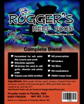 Rogger's Reef Food - Complete Blend
