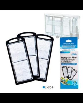 Ista - Hang-On Filter Replacement Cartridges(3 pack) 854
