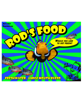 ROD'S FOOD - Large Mouth Blend - Fresh Water