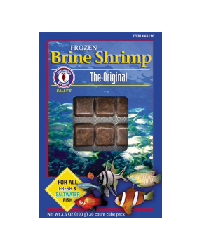 San Francisco Brine Shrimp Cubes