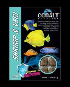 COBALT Shrimp and Vegi-Cubes