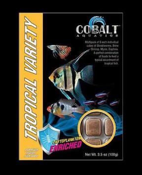 COBALT Tropical Variety Cubes