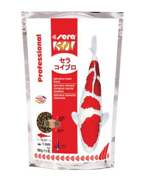 Sera - Koi Professional Spirulina Color Food - #7031, #7036