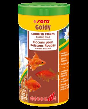 Sera Goldy Goldfish Flakes