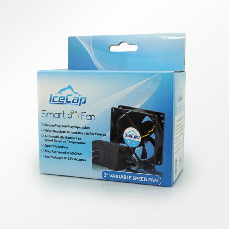 IceCap 3 Inch Smart Fan