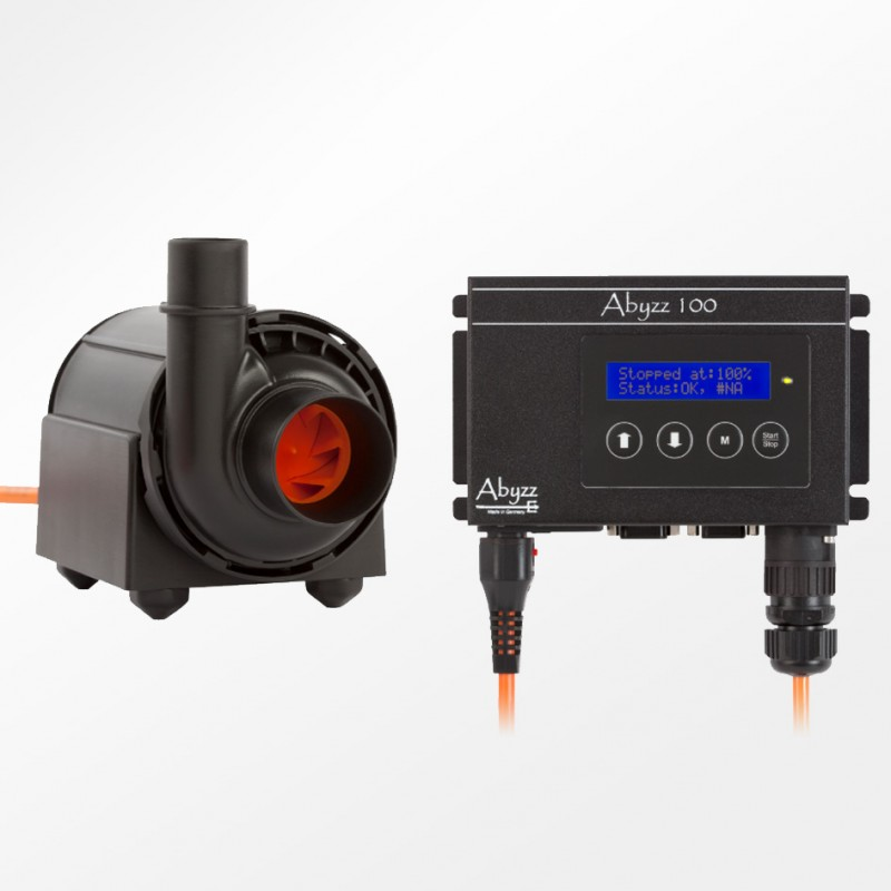 Abyzz A100 1880GPH Controllable DC Pump