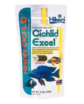Hikari - Cichlid Excel Mini and Medium 8.80 oz.