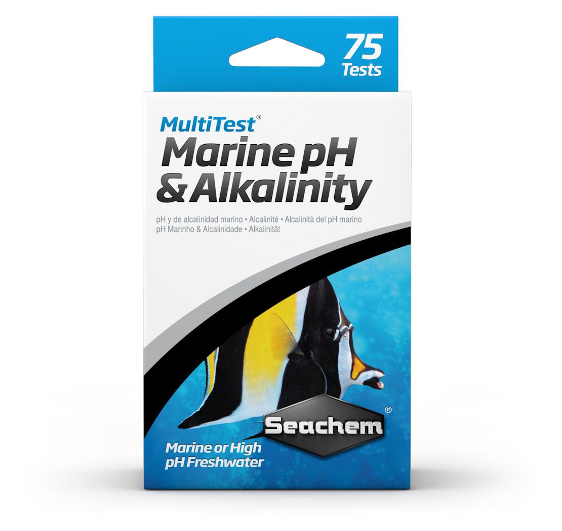 Seachem - MultiTest: pH & Alkalinity 75 Tests