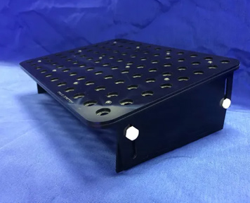 Coral Junction - BLACK OUT SERIES Locking Frag Tray 8.375